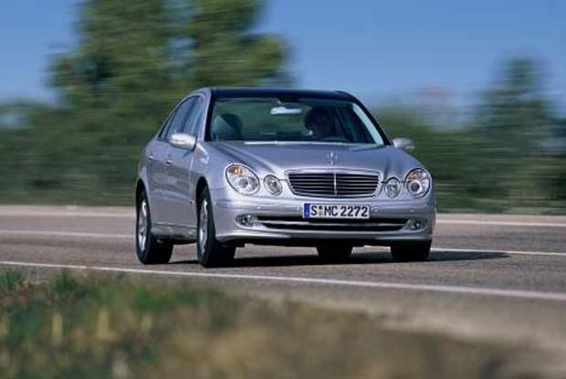 Mercedes E-klasa / kliknij /INTERIA.PL