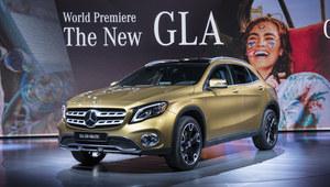 Mercedes GLA po face liftingu zaprezentowany w Detroit