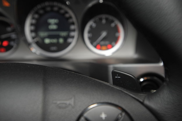 Mercedes GLK - łopatki /Motor