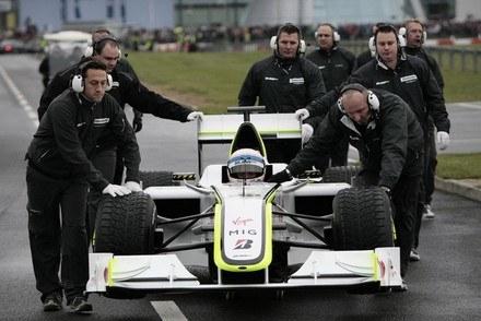 Mercedes GP zamiast Brawna /AFP