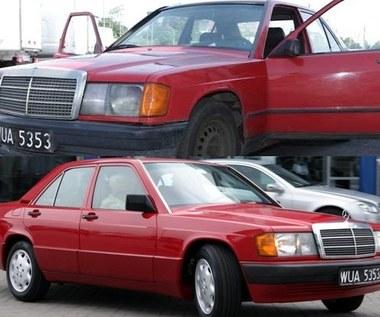 Mercedes już naprawiony!