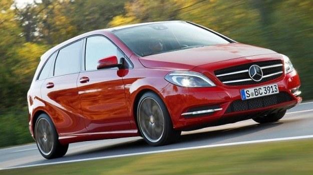 Mercedes klasy B uzyskał najlepszy wynik jednostkowy spośród aut ocenianych przez DEKRĘ w tegorocznym raporcie usterkowości. /Mercedes