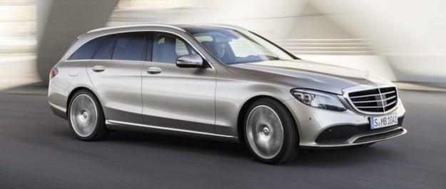 Mercedes klasy C odświeżony przed Genewą
