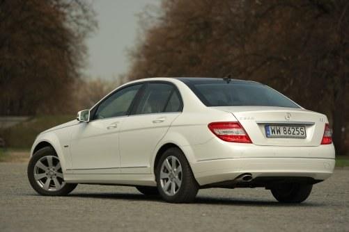 Mercedes klasy C W204 (2007-2014) /Motor