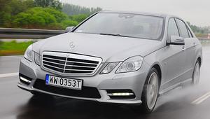 Mercedes klasy E -  jak robi się dobre auto klasy wyższej