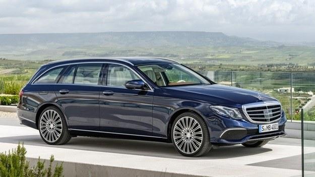 Mercedes klasy E kombi /Mercedes