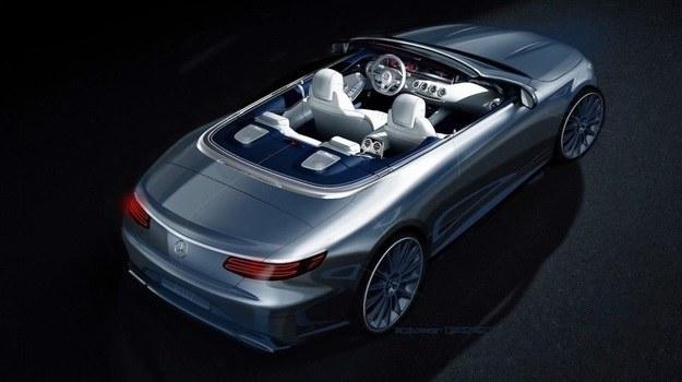 Mercedes klasy S cabrio /Mercedes