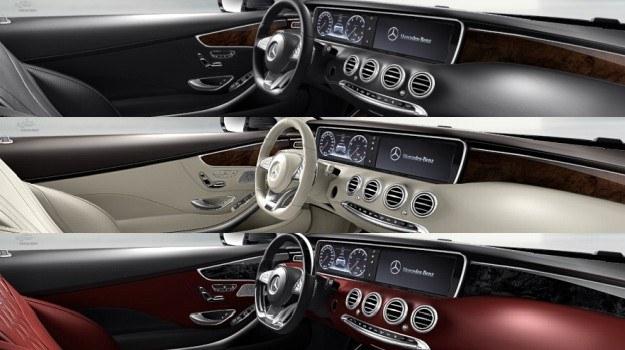 Mercedes klasy S Coupe (C217) - deska rozdzielcza /Mercedes