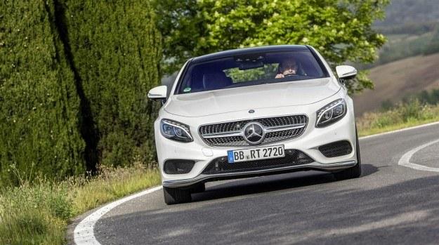 Mercedes klasy S Coupe z funkcją pochylania w zakrętach /Mercedes