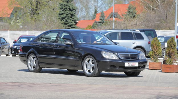 Mercedes klasy S W220 /Motor