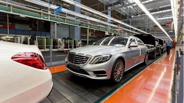 Mercedes klasy S /Mercedes