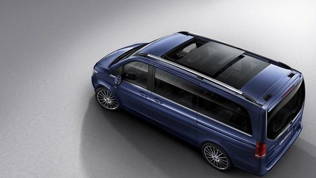 Mercedes klasy V w ekskluzywnej wersji
