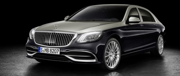 Mercedes-Maybach klasy S zmodernizowany