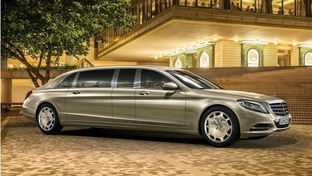 Mercedes-Maybach S 600 Pullman /