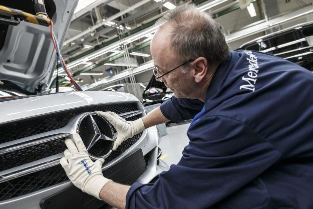 Mercedes nie nadąża z produkcją /