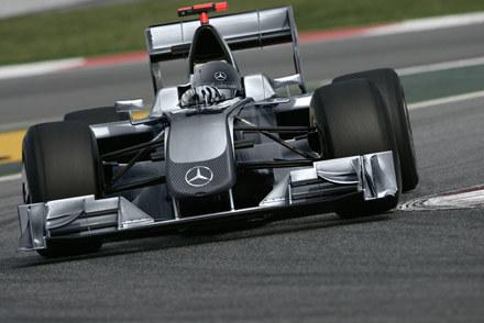 Mercedes opublikował wizualizację swojego bolidu /
