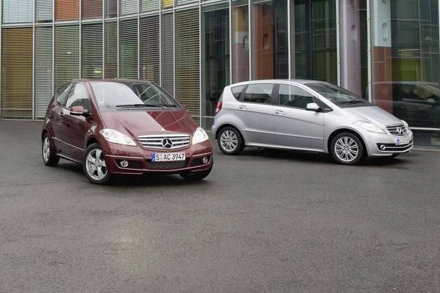 Mercedes produkuje również małe samochody /