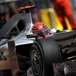 Mercedes rezygnuje z odwołania od kary dla Schumachera