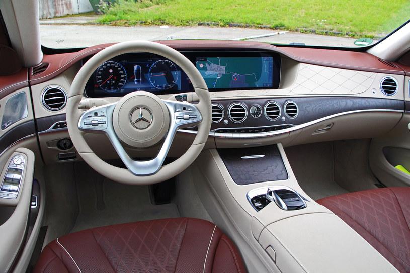 Mercedes S 400 d /INTERIA.PL
