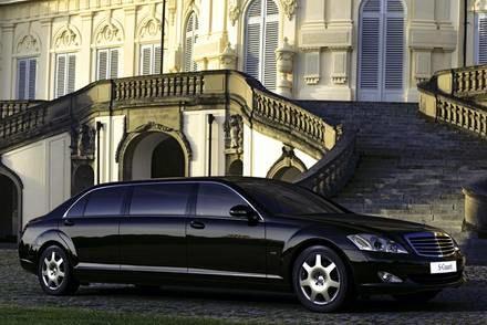 Mercedes S600 guard pullman / Kliknij /INTERIA.PL