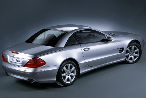 Mercedes SL 350 (kliknij) /INTERIA.PL