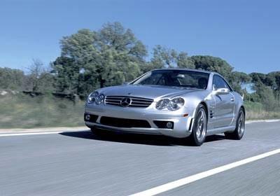 Mercedes SL65 AMG / Kliknij /INTERIA.PL