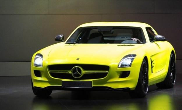 Mercedes SLS AMG E-CELL /INTERIA.PL