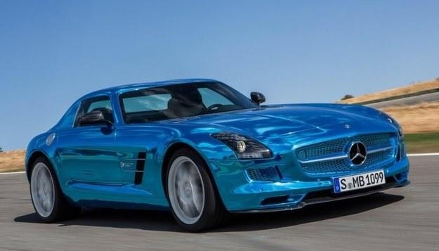Mercedes SLS AMG Electric Drive /Mercedes