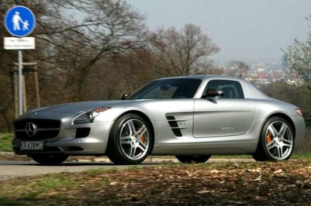 Mercedes SLS AMG /INTERIA.PL