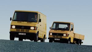 Mercedes T1 - (r)ewolucja w samochodach dostawczych