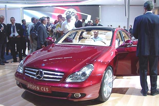 Mercedes Vision CLS coupe (kliknij) /INTERIA.PL