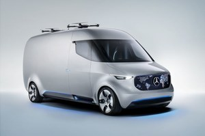 Mercedes Vision Van dla kurierów