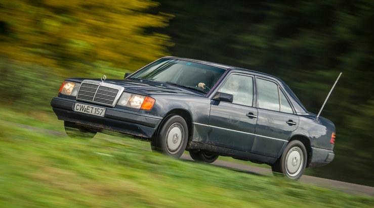 Mercedes W124 z przebiegiem 1 000 000 km /