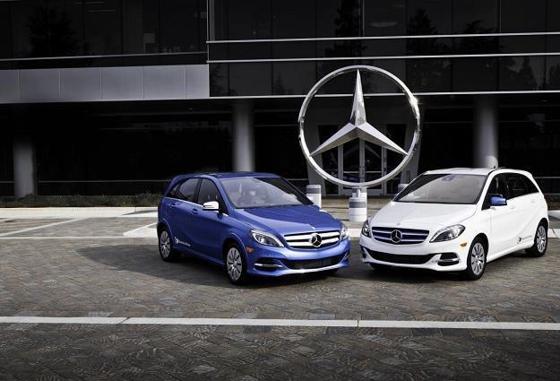 Mercedes wprowadza do sprzedaży elektryczną klasę B /