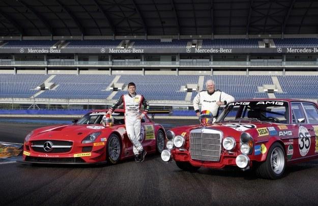 Mercedesy: 300 SEL 6,8 AMG i SLS AMG GT3 /INTERIA.PL