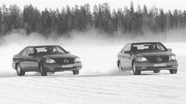 Mercedesy klasy S coupe /Mercedes