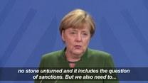 Merkel o spotkaniu normandzkiej czwórki