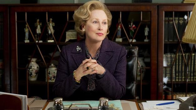 Meryl Streep jako Margaret Thatcher /fot  /materiały prasowe
