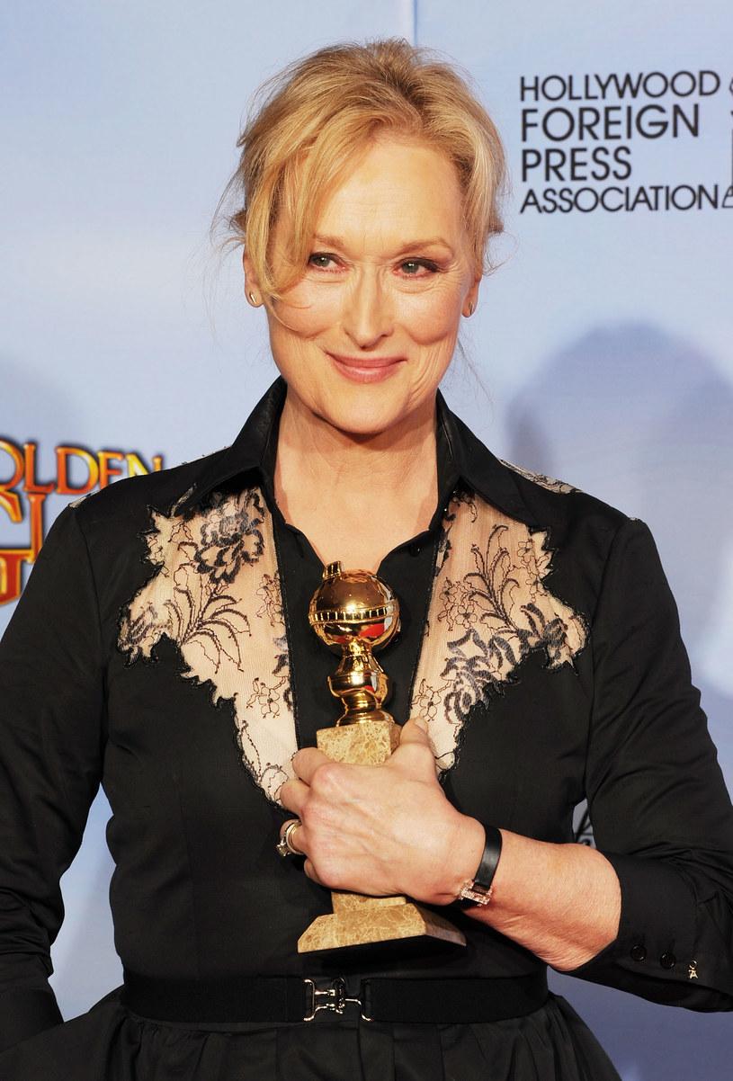 Meryl Streep ze Złotym Globem /Getty Images