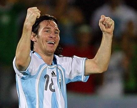 Messi i spółka zagrają w finale z Brazylią /AFP