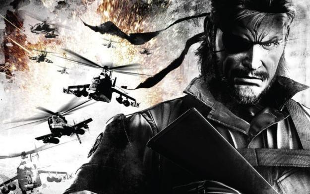 Metal Gear Solid - motyw graficzny /Informacja prasowa