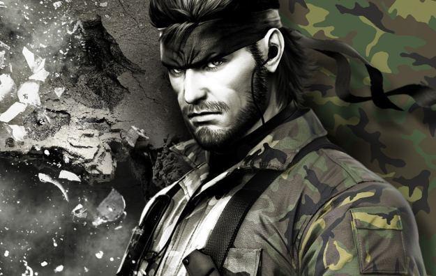 Metal Gear Solid Snake Eater 3D - motyw graficzny /Informacja prasowa