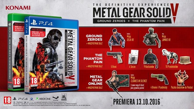 Metal Gear Solid V: The Definitive Experience /materiały prasowe