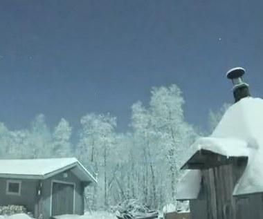 Meteor nad Laponią.