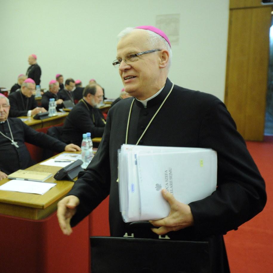 Metropolita przemyski, przewodniczący Konferencji Episkopatu Polski, abp Józef Michalik /Grzegorz Jakubowski /PAP