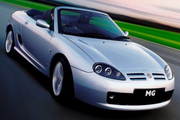 MG TF - kabriolet roku (kliknij) /INTERIA.PL