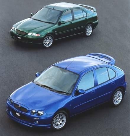 MG ZS i MG ZR to pojazdy, które mogą powstawać na Żeraniu (kliknij) /INTERIA.PL