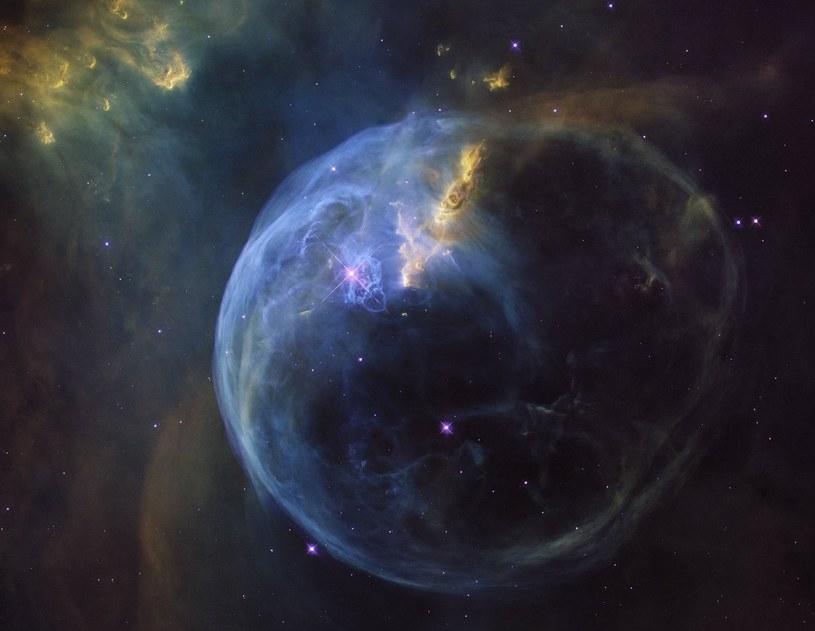 Mgławica Bąbel znana także jako NGC 7635 /NASA