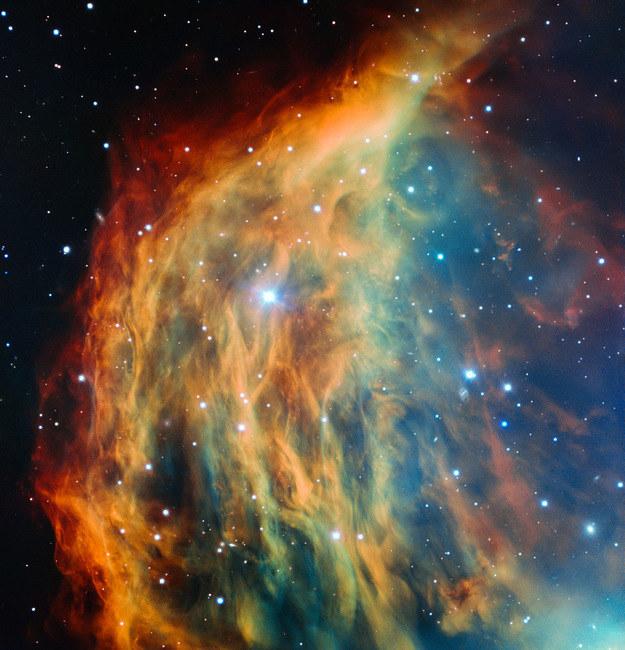 Mgławica Meduza na obrazie z teleskopu VLT. /materiały prasowe