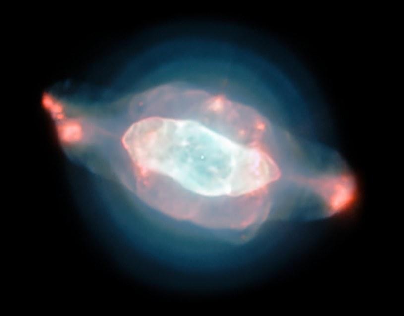 Mgławica Saturn, czyli mgławica planetarna NGC 7009 /materiały prasowe